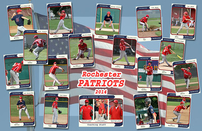 Rocket and Patriot Team Posters